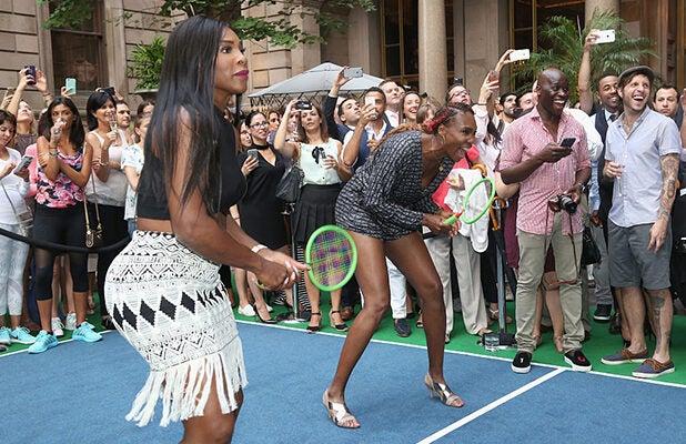 COVER - Serena Williams Venus Williams US Open