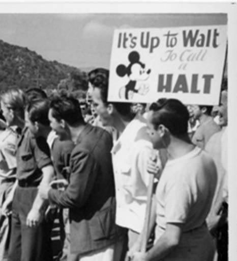 Disney Strike 1941