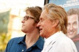 "Cameron Douglas and Michael Douglas ""Ghosts Of Girlfriends Past"" 2009"