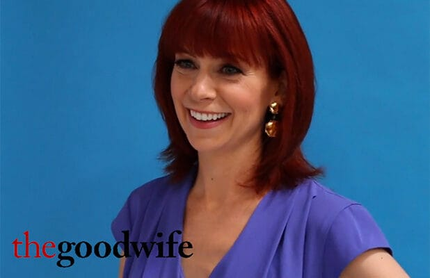Carrie Preston The Good Wife Emmy Quickie
