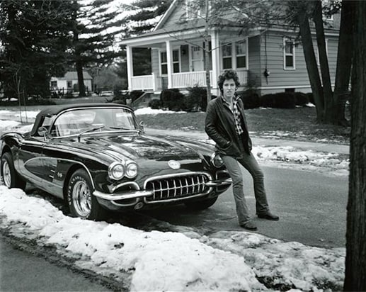 Cars - StarsBruce Springsteen by Frank Stefanko