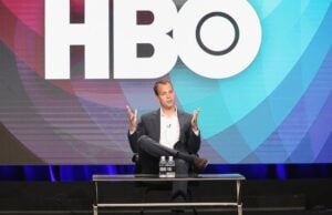 BEVERLY HILLS, CA - JULY 30:  President of HBO Programming Casey Bloys speaks onstage during the 'Executive Session' panel discussion at the HBO portion of the 2016 Television Critics Association Summer Tour at The Beverly Hilton Hotel on July 30, 2016 in Beverly Hills, California.  (Photo by Frederick M. Brown/Getty Images)