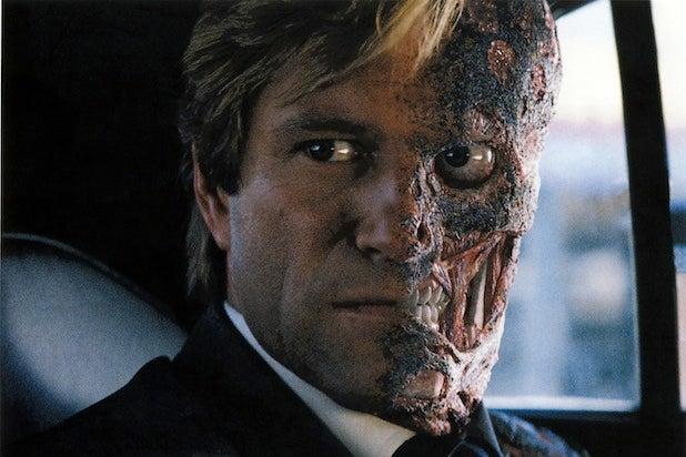 DC Movie Villains Aaron Eckhart Two Face