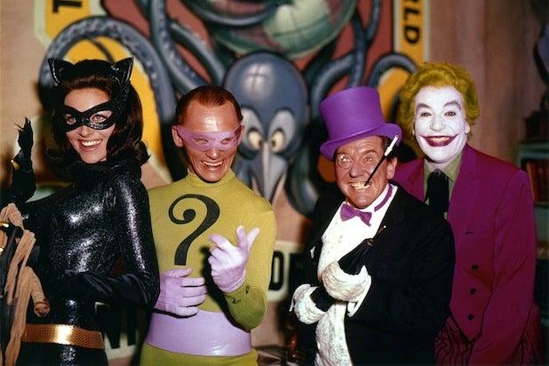 DC movie villains 60s Batman