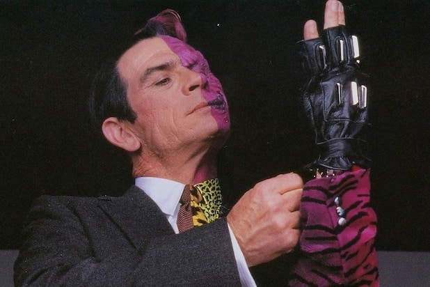 DC movie villains Two-Face Tommy Lee Jones