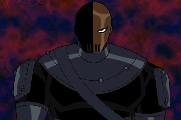 Deathstroke Batman movie villain
