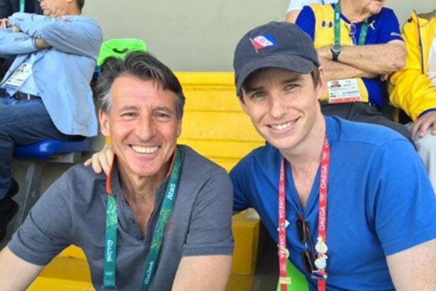 Eddie Redmayne Olympics