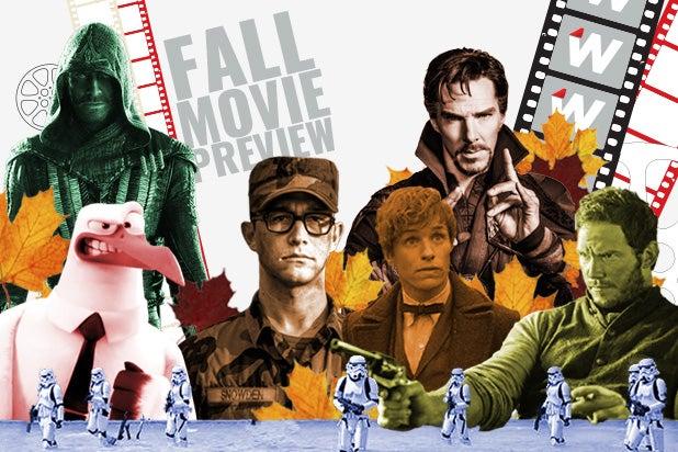 Fall Movie Preview Box Office Showdowns