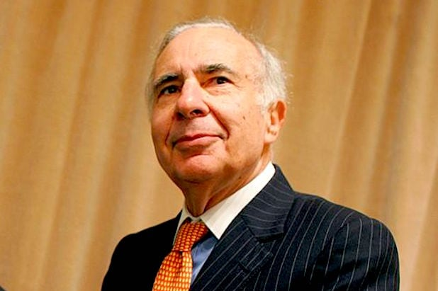 Businessman Carl Icahn departs role advising Trump on regulations