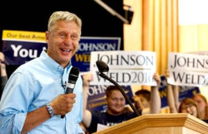 Gary Johnson Aleppo Foreign Leader