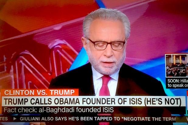 CNN Wolf Blitzer ISIS TRUMP