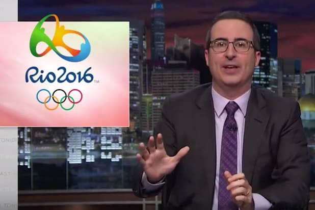 John oliver takes his turn mocking nbc s olympics coverage