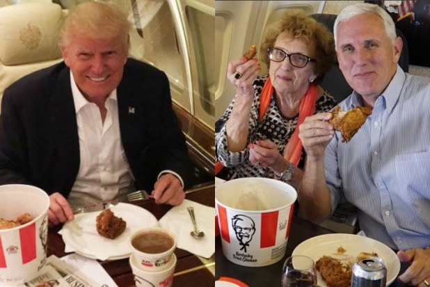 Kfc Jokes: Are Trump-Pence's KFC Pics A Dog-Whistle To Sexist Clinton