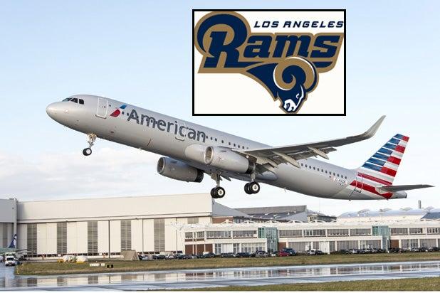 American Airlines LA Rams
