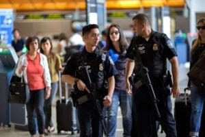 LAX false shooter reports