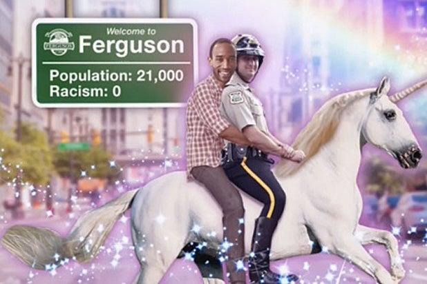 Larry Wilmore Ferguson unicorn copy