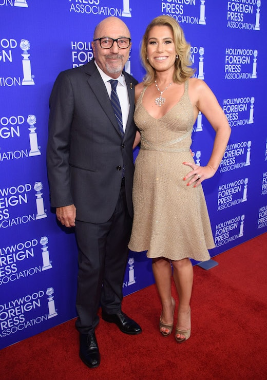 Beverly Hills, CA. August 4, 2016 Hollywood Foreign Press Association presents annual Grants Dinner Thursday night from the Beverly Wilshire Hotel. The HFPA will present more than $2.4 million in donations to non-profit entertainment-related organizations and scholarship programs. Pictured: Lorenzo Soria and Lilla Soria.