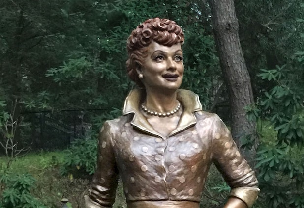 'Scary' Lucille Ball statue being replaced Saturday in late comedian's hometown