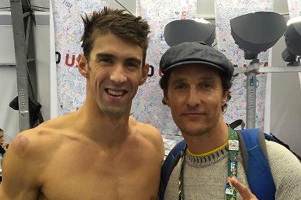 Matthew McConaughey Olympics