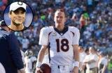 Peyton Manning and Rob Lowe