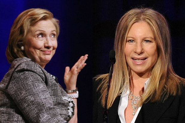 Barbara Streisand to Serenade Hillary Clinton at LGBT-focused Fundraiser