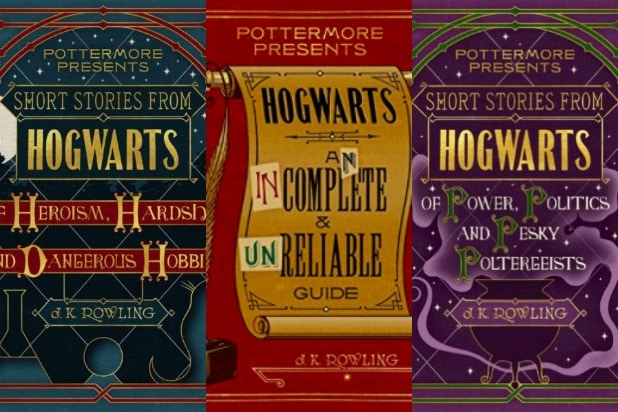 Pottermore Presents harry potter ebooks
