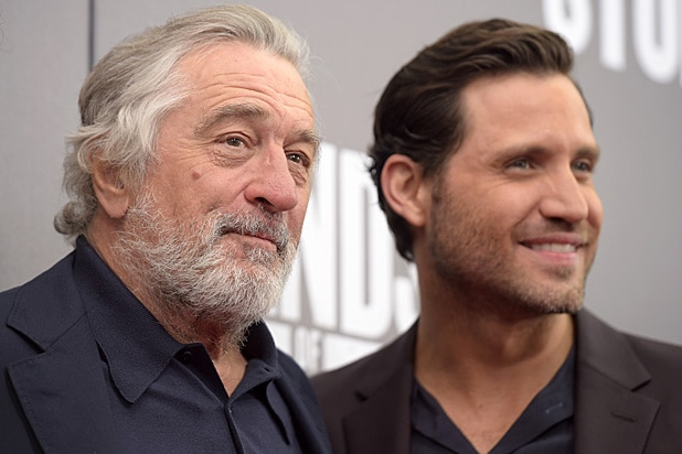 """Robert De Niro and Edgar Ramirez attend """"Hands Of Stone"""" sponsored by DeLeon Tequila"""
