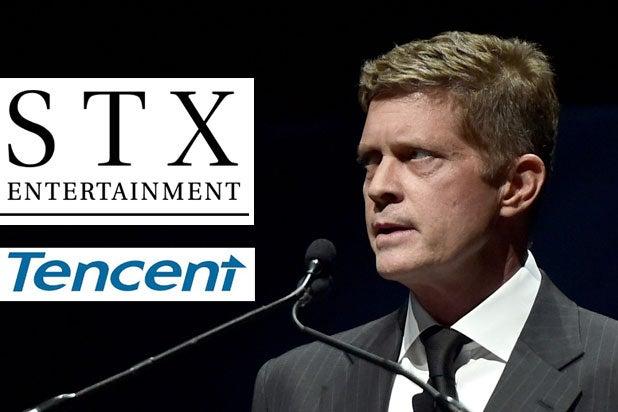 Robert Simonds STX tencent