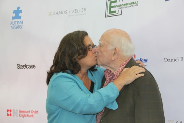 Rosie O'Donnell Ed Asner Kiss