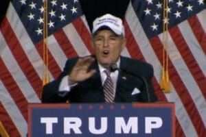 Rudy Giuliani Mexico hat