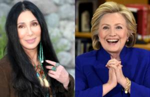 Cher to Host Hillary Clinton Fundraiser on Fire Island