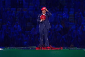 Shinzo Abe Super Mario Rio Olympics Closing Ceremony