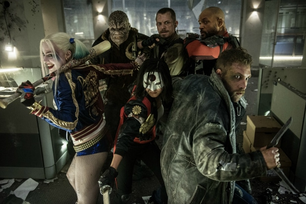 Suicide Squad Review Talented Cast Spins Its Wheels