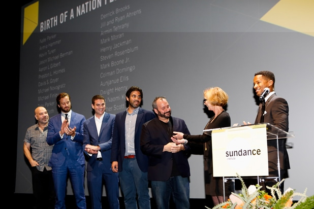 Sundance Next - Birth of A Nation Cast