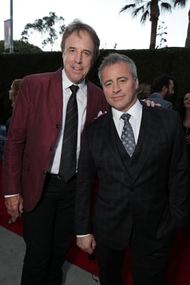 Kevin Nealon and Matt LeBlanc are shown at the 2016 Stars Party, hosted by Showtime, CBS and The CW at the Pacific Design Center in Los Angeles, CA, on August 10, 2016. - Photo: Eric Charbonneau/AP Invision for SHOWTIME