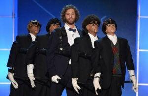 TJ Miller Critics Choice Awards