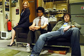 The IT Crowd Chris O'Dowd Richard Ayoade Katherine Parkinson