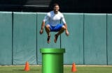 Tim Tebow Jumping