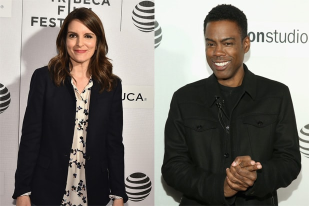 Tina Fey, Chris Rock