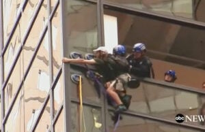 Trump Tower climber