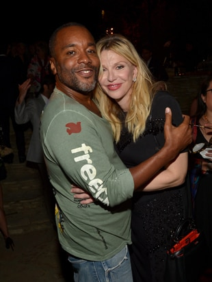 LOS ANGELES, CA - AUGUST 10: Director Lee Daniels (L) and singer Courtney Love attend the special event for UN Secretary-General Ban Ki-moon hosted by Brett Ratner and David Raymond at a Private Residence on August 10, 2016 in Los Angeles, California. (Photo by Charley Gallay/Getty Images for Arise Pictures)