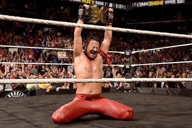 WWE NXT Shinsuke Nakamura