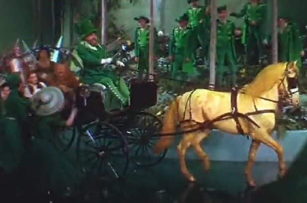 """Wizard of Oz"" horse of a different color"