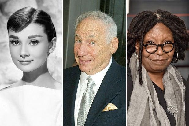 All 15 EGOT Winners, From Audrey Hepburn to John Legend (Photos)