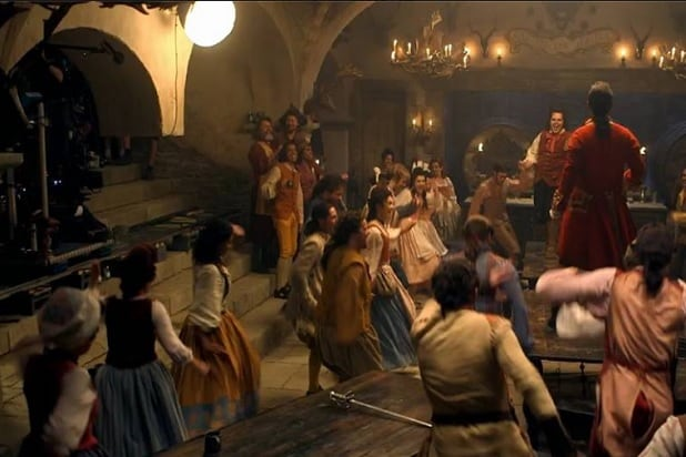 beauty and the beast josh gad gaston le fou luke evans