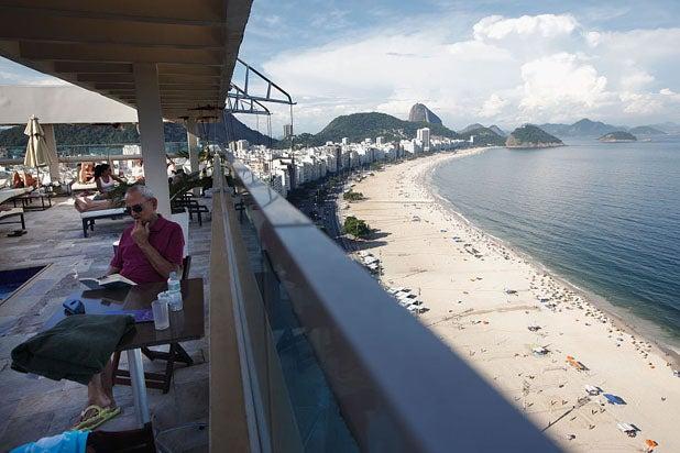 Rio Olympics Copacabana