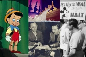 disneys worst year pinocchio fantasia strike walt disney studios walt disney productions