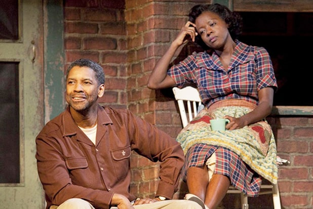 Fences Broadway Denzel Washington Viola Davis