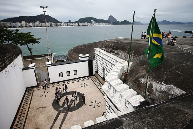 Rio Olympics Fort Copacabana