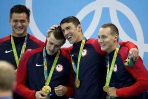 freestyle relay rio olympics